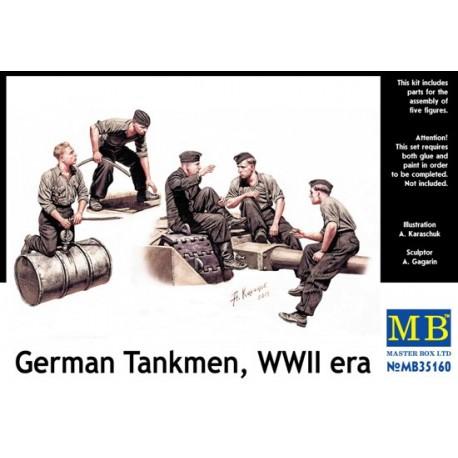 GERMAN TANKMEN WWII 1/35
