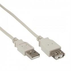 USB A verlengkabel m-f 5.0mtr