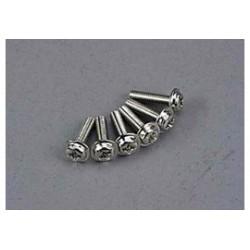 screws 3x12mm washerhead 6st.