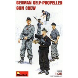 GERMAN SELF PROP GUN CREW 1/35