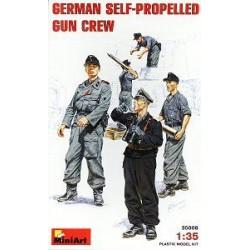 GERMAN SELF PROP GUN CREW 1/35