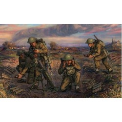 WWII BRITISH 3-INCH MORTAR 39-43 1/72