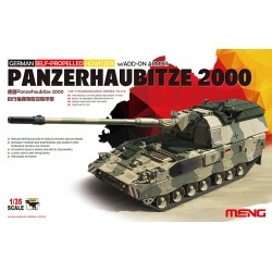 GERMAN PANZERHAUBITZE 2000 SELF-PROPELLE 1/35