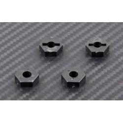 12mm hex (PVC) 4st.