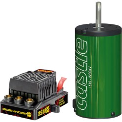 Castle sidewinder 8HT Brushless combo set 1/8 modellen