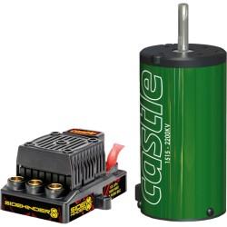 Castle sidewinder 8T set 1/8 modellen