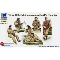 WWII BRITISH/COMMONWEALTH AFV CREW SET 1/35