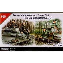 GERMAN PANZER CREW SET 1/35