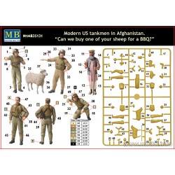 MODERN US TANKMEN IN AFGHANISTAN 1/35