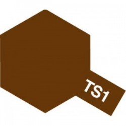 Acryl spuitbus plastics red brown TS-1 100ml.