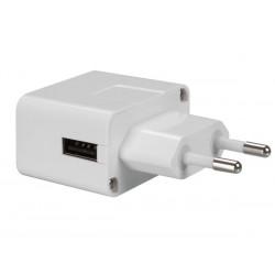 Universeel USB adapter 1000mA zij-uitgang