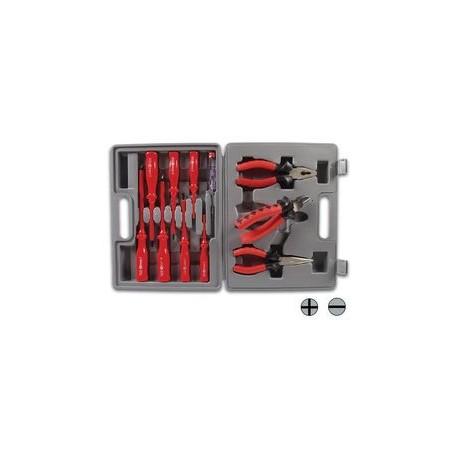 Universele (elektra) toolset 1/10 1/8 in box