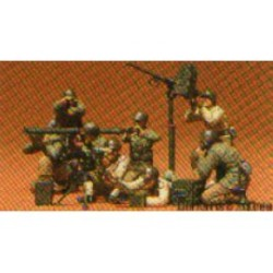 US GUN & MORTAR TEAM 1/35