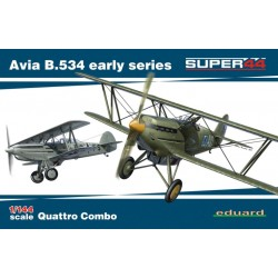 AVIA B.534 EARLY 1/144 (4x model)