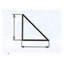 balsa driehoeklijst 6x6 mm