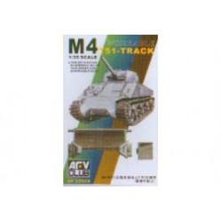 M-4/M-3 TRACKS 1/35