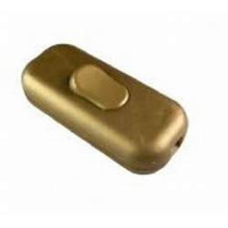 Snoerschakelaar goud