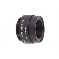 CCTV telephoto 8mm/f2.0 40'