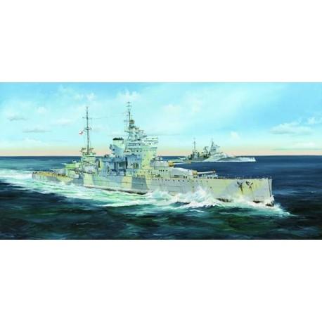BATTLESHIP HMS QUEEN ELIZABETH 1943 1/350