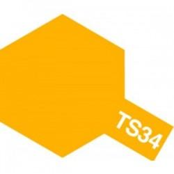 Acryl spuitbus plastics camel yellow TS-34 100ml.