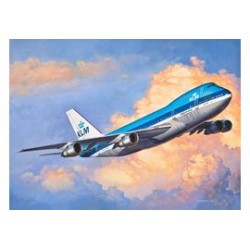 BOEING 747-200 JUMBO KLM 1/450 16X13CM