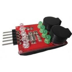 inflight sound LiPo alarm/buzzer 2/3/4S