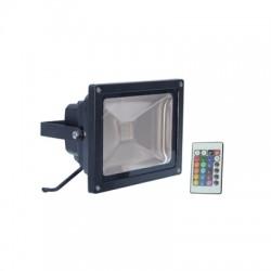 30W RGB buitenlamp zwart