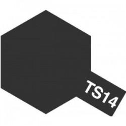 Acryl spuitbus plastics black TS-14 100ml.
