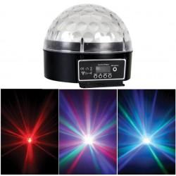 discobal met LED'S  lichteffect