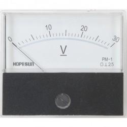 paneelmeter 70x60mm 30V DC