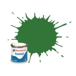 Humbrol Enamel 131 halfmat medium groen 14ml.