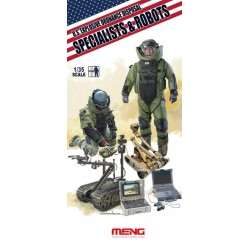U.S EOD SPECIALIST+ROBOT 1/35