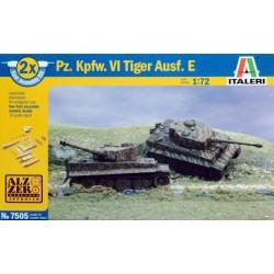 PZ. KPFW. VI TIGER I AUSF. E 1/72 2 STUKS!