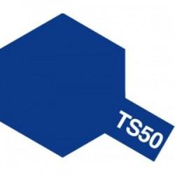 Acryl spuitbus plastics mica blue TS-50 100ml.
