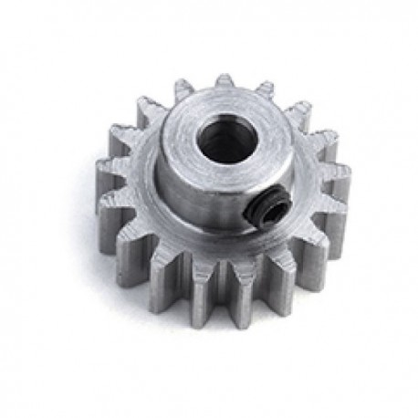15t pinion 48dp (0.6 module) staal