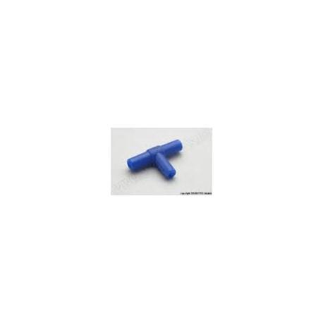 Fuel/water tube connector T-type (5mm slangmaat)