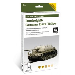 AFV armour painting system german yellow