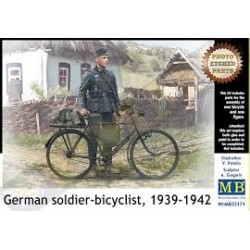 GERMAN SOLDIER BICYCLIST 1/35