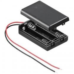 batterijhouder 3xAAA gesloten