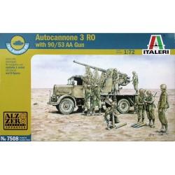 AUTOCANNONE 3RO w/90-53 AA GUN 1/72