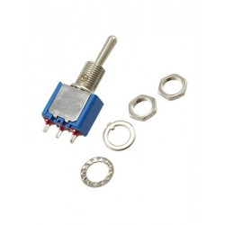 tuimelschakelaar mini   (aan)uit(aan)   gat-6.5mm