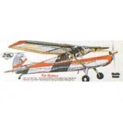 Houten bouwmodel van de Cessna 170 60cm