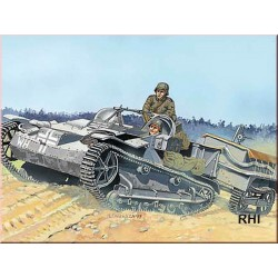 WWII RENAULT UE + U.V VEHICLE 1/35