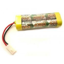 7.2V stickpack 4300mAh NIMH