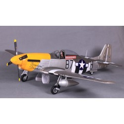 RTF brushless P51 V8 1450mm PNP-VERSIE