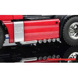 Euro-style vrachtwagen uitlaat chrome 1/14