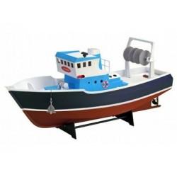 R/C houtbouw vissersboot Atlantis 54cm