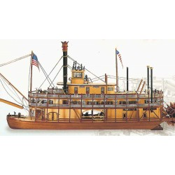 Artesania Latina 20505 King of the Mississippi houten scheepsmodel 66cm