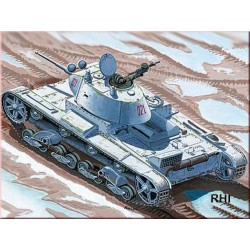 WWII T-26C LIGHT TANK MODEL 1937 45MM GUN 1/72