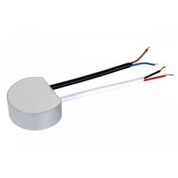 LEDstrip voeding 12vDC rond